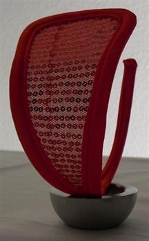 Bild von Design 4 - rot/Pailetten